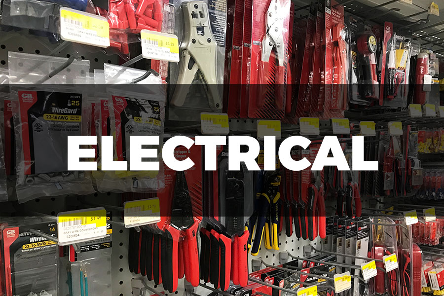 Electrical | Barrows Hardware on