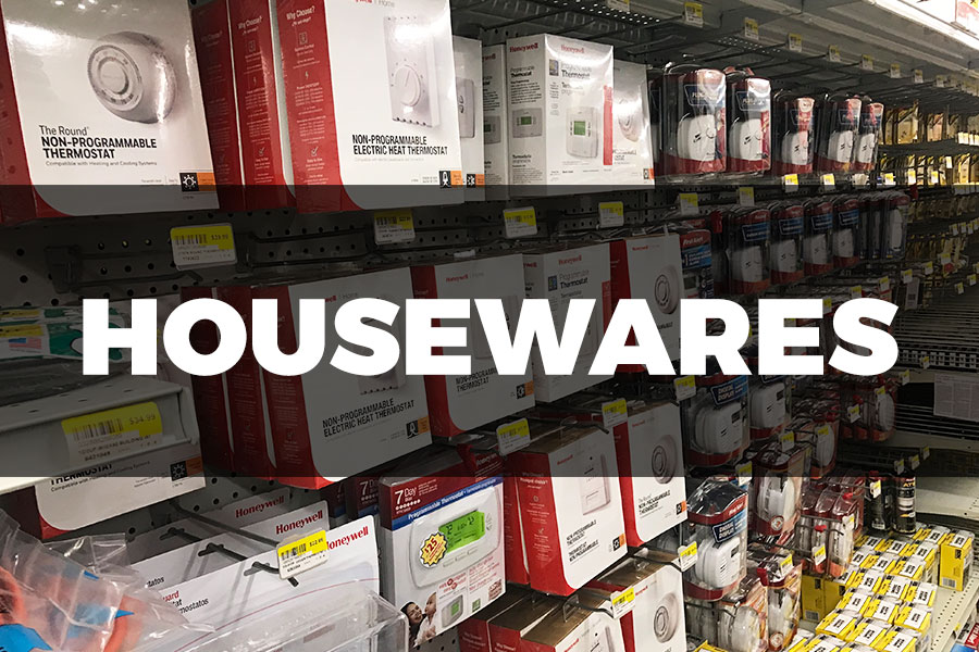 Barrows Hardware Departments: Housewares